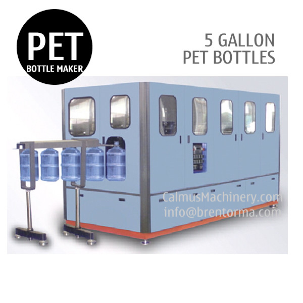 120BPH 5 Gallon PET Bottle Making Machine 18.9L 19L 20L PET Bottle Blow Molding Machine