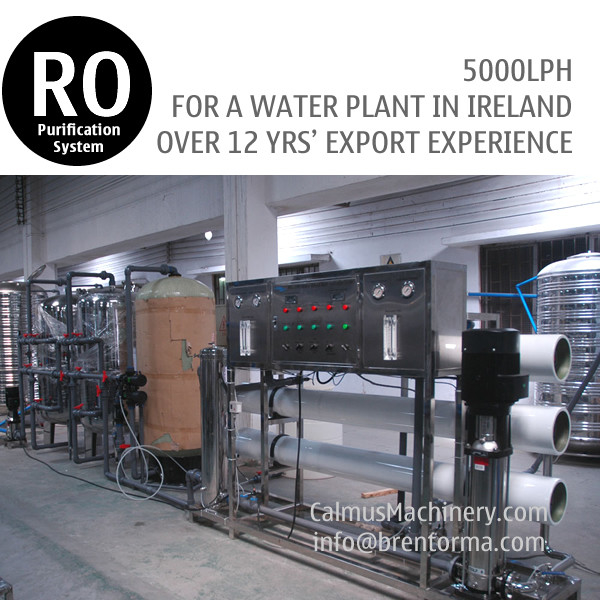 5TPH Ireland Ordered Industrial Water Plant RO Water Treatment System