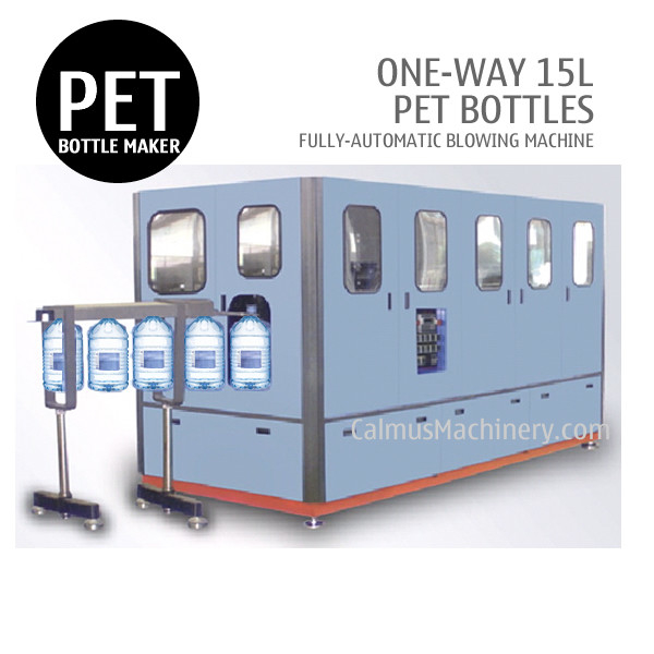 One-Way 15 Litre Water Bottle Making Machine 15L PET Bottle Blowing Machine